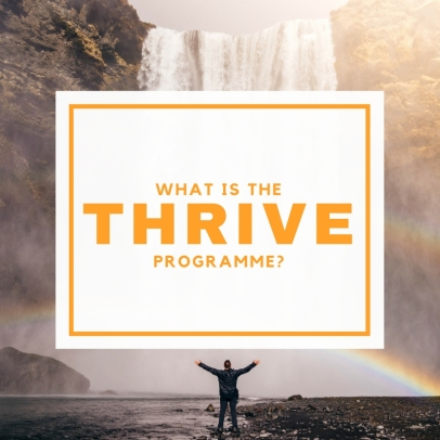 WHAT IS THE THRIVE PROGRAMME